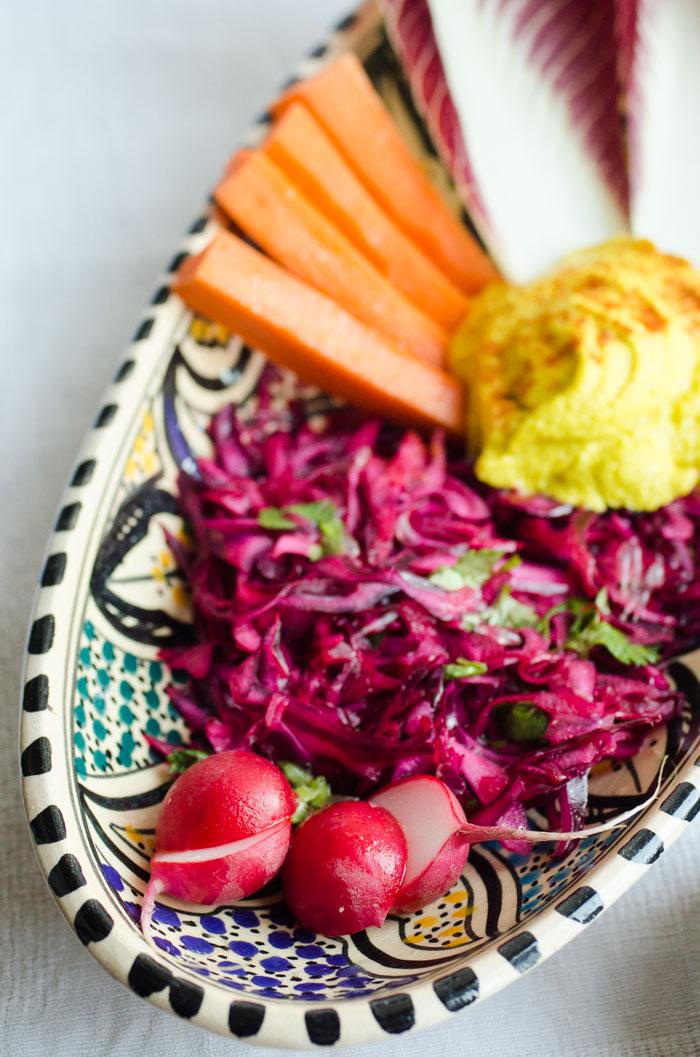 End of summer appetizer/brunch platter // vegan