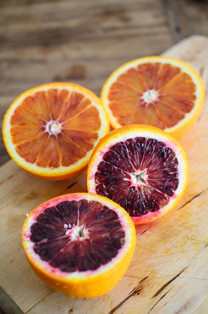 Orange and mint-marinated quinoa + steamed vegetables {vegan + gluten free}