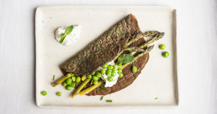 Marta's Plants X HEMPATH: Hemp flour crêpes to welcome spring {vegan}