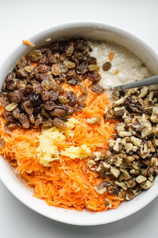 Marta's Plants X STEVIA'S: Stevia-sweetened carrot cake cupcakes {vegan + sugar free}