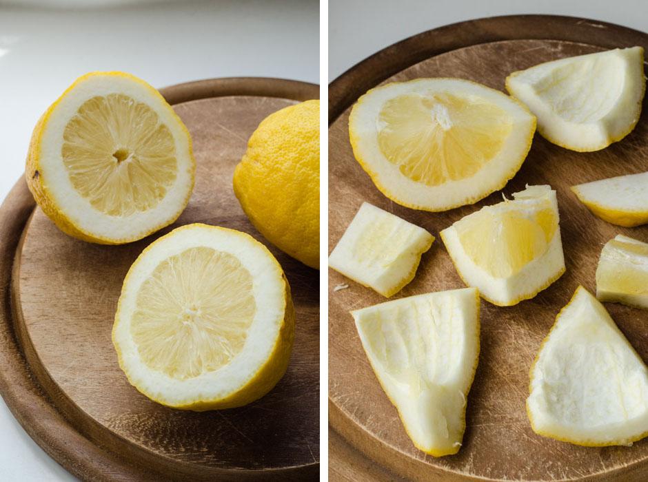 Marta's Plants - Pasta al pesto: lemons from Procida {vegan} Pasta al pesto di limoni di Procida
