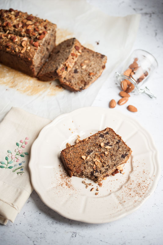 Marta's Plants - Buckwheat banana nut bread {vegan + gluten free}