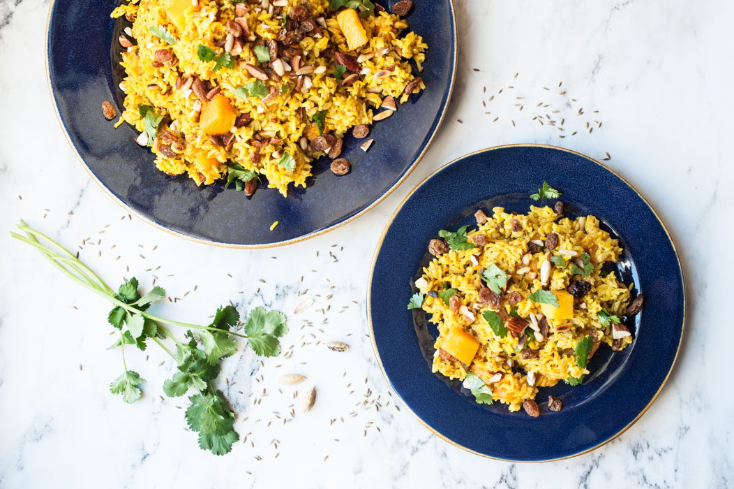 Marta's Plants - Sweet spiced basmati rice with mango {vegan + gluten free}