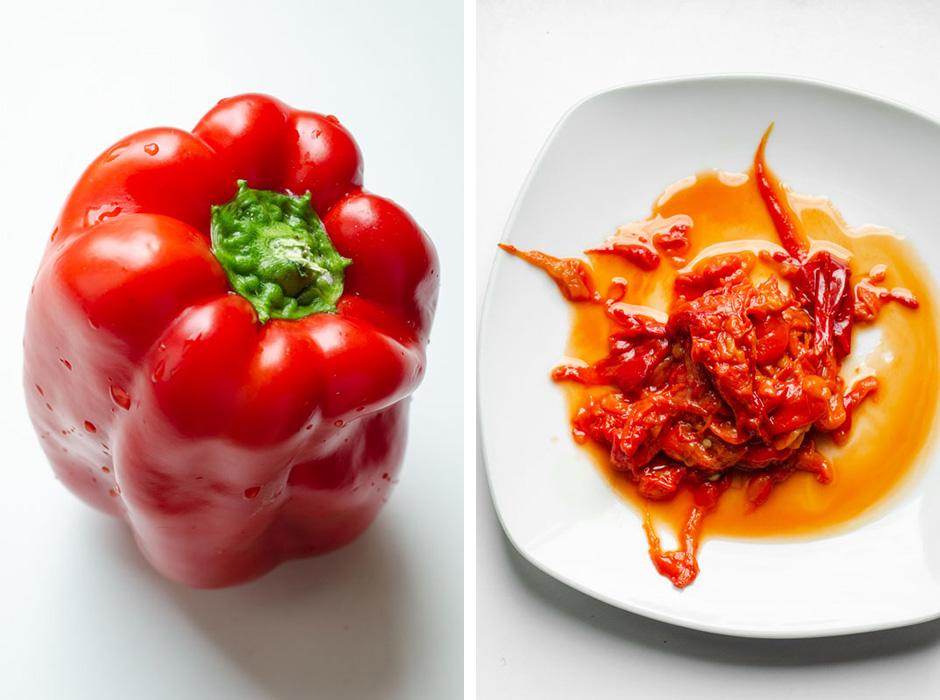 Marta's Plants - Roasted red bell pepper hummus {vegan + gluten free}