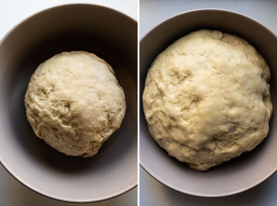 Sweet potato cinnamon rolls with an orange glaze {vegan} - Marta's Plants