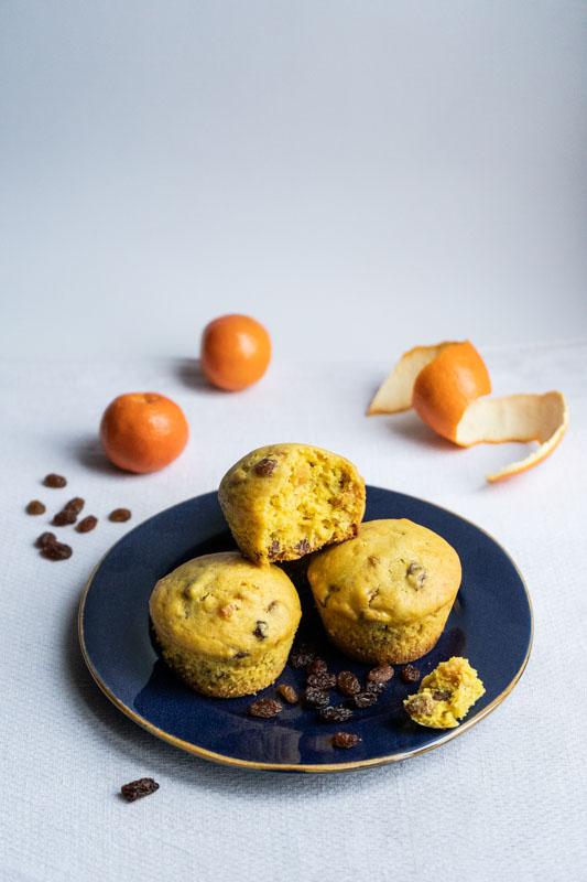 Xmas panettone muffins {vegan} - Marta's Plants