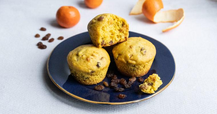 Muffin gusto panettone {vegan}