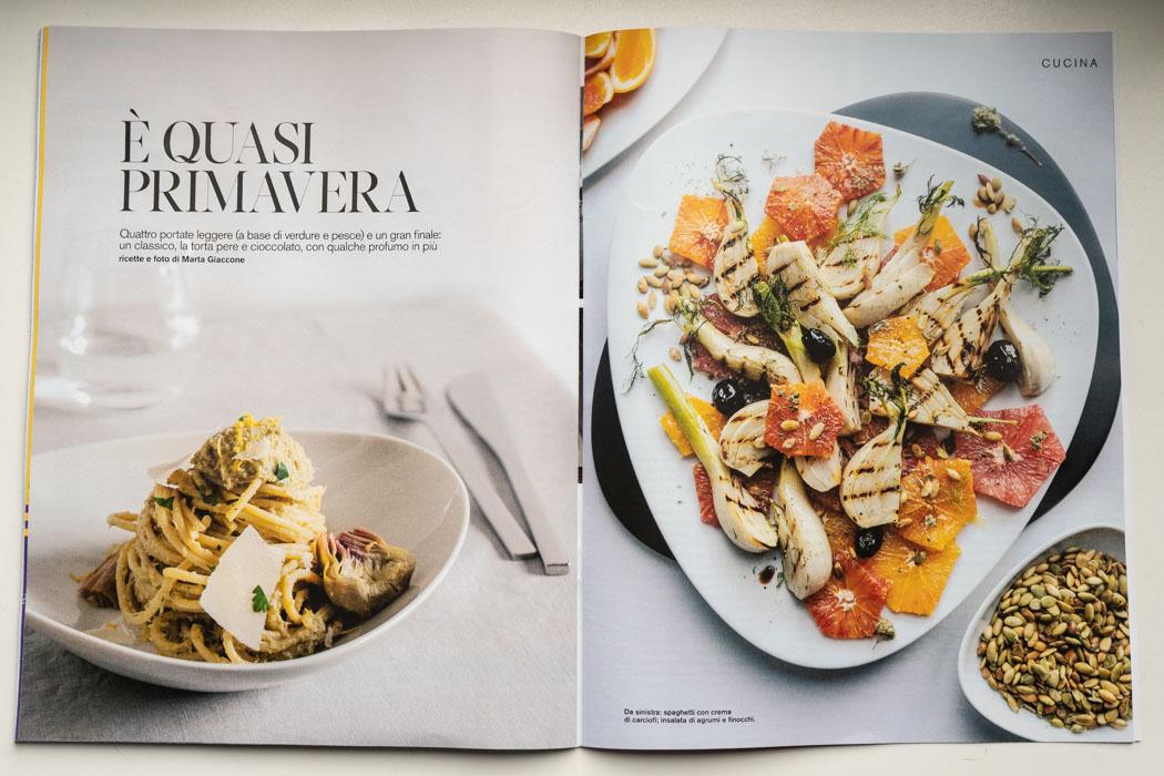 Marta Giaccone D di Repubblica cucina food 2 february 2019