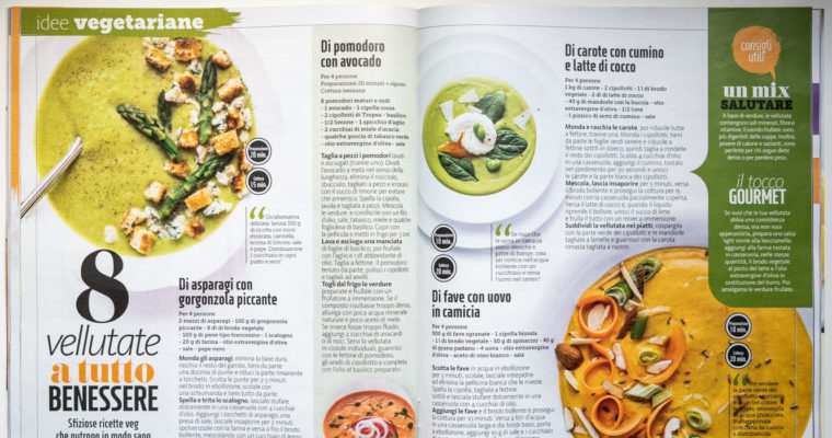 Cooking, styling and photographs for Giallo Zafferano (May 2019 issue)