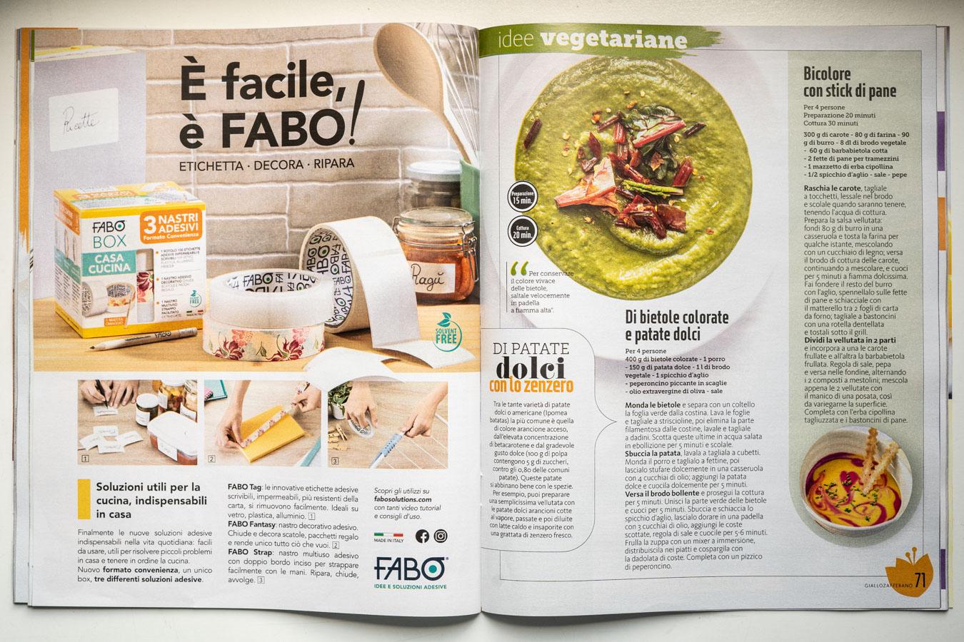 Marta Giaccone fotografa food Giallo Zafferano (Maggio 2019)