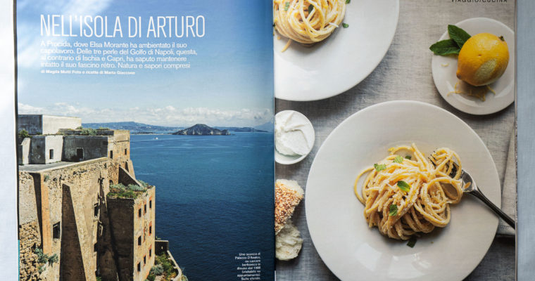 Food editorial on D di Repubblica (June 1st, 2019)