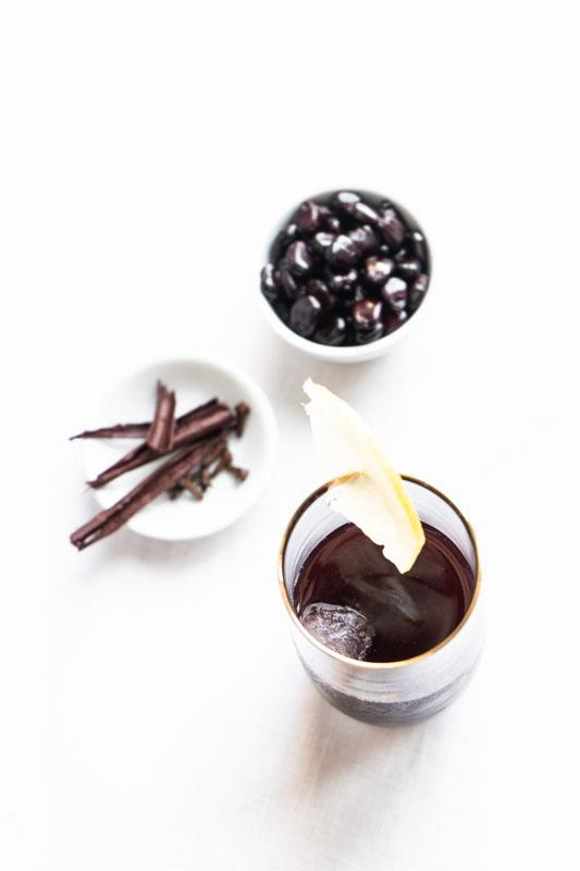 Chicha morada (Peruvian purple corn drink) {vegan + gluten free} - Marta's Plants