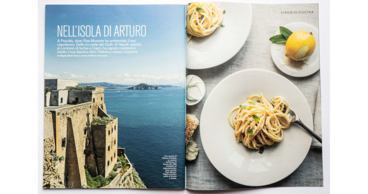 Food + travel editorial on D di Repubblica (June 1st, 2019)