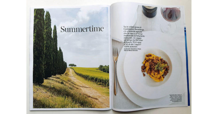 Food + travel editorial on D di Repubblica (July 20th, 2019)