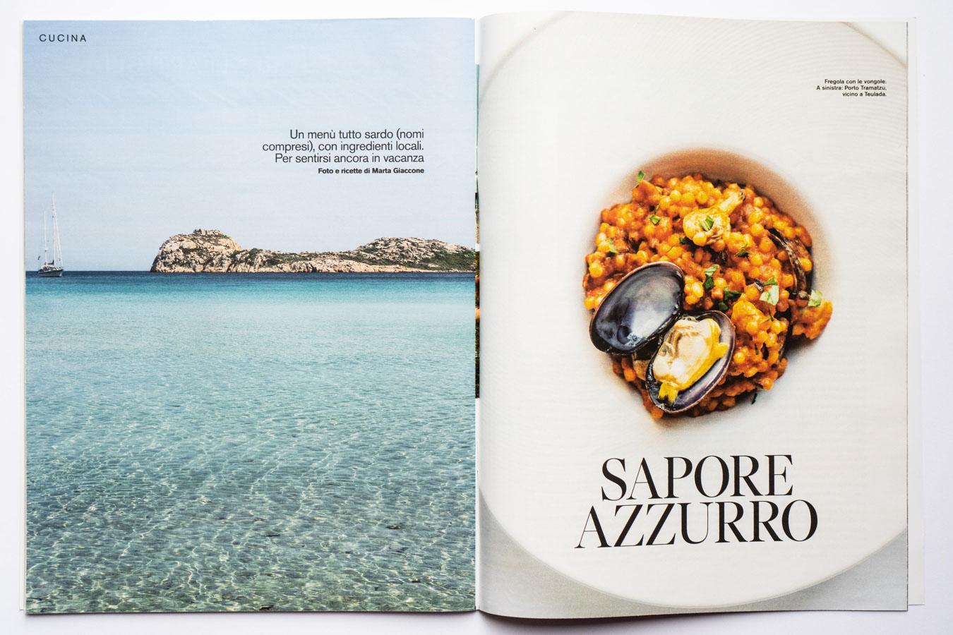 Travel and Food editorial, Sud Sardegna, by Marta Giaccone, D di Repubblica 24 agosto 2019
