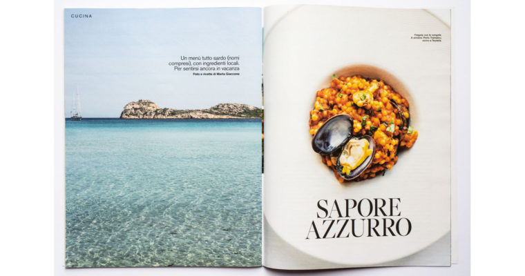 Food + travel editorial on D di Repubblica (Aug 24th, 2019)