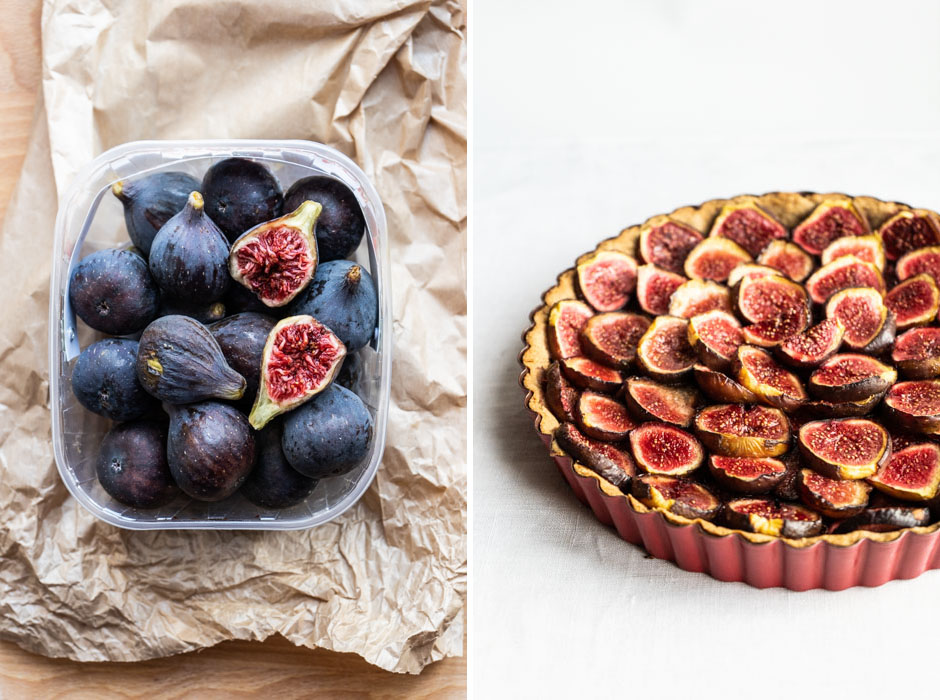 Rye fig tart {vegan} - Marta's Plants
