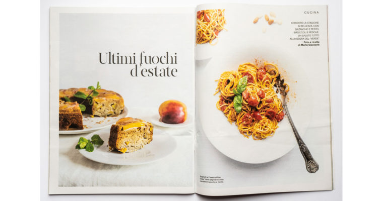 Food editorial on D la Repubblica (Sept 7th, 2019)