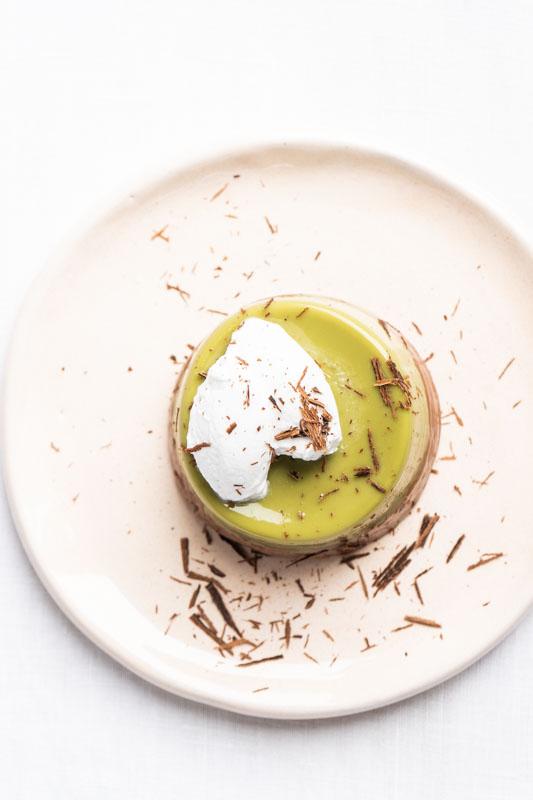 Matcha & cacao pudding {vegan + gluten free} - Marta's Plants