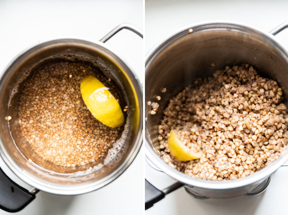 Warm buckwheat with cavolo nero pesto, beets and citrus {vegan + gluten free} - Marta's Plants