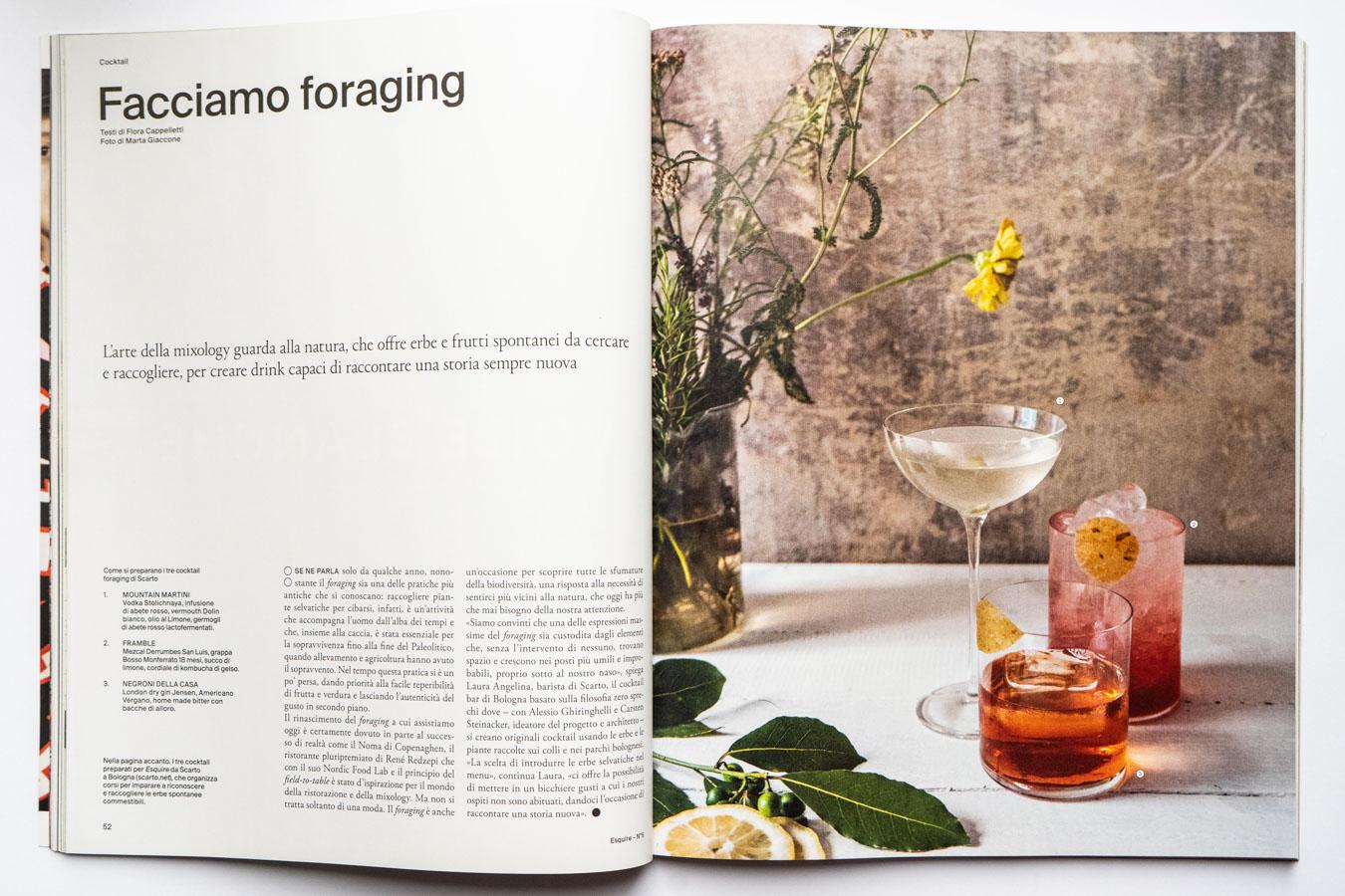 Marta Giaccone - Esquire Italia Sept 2019 food photography