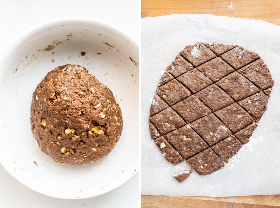 Mostaccioli cookies {plant based} - Marta's Plants