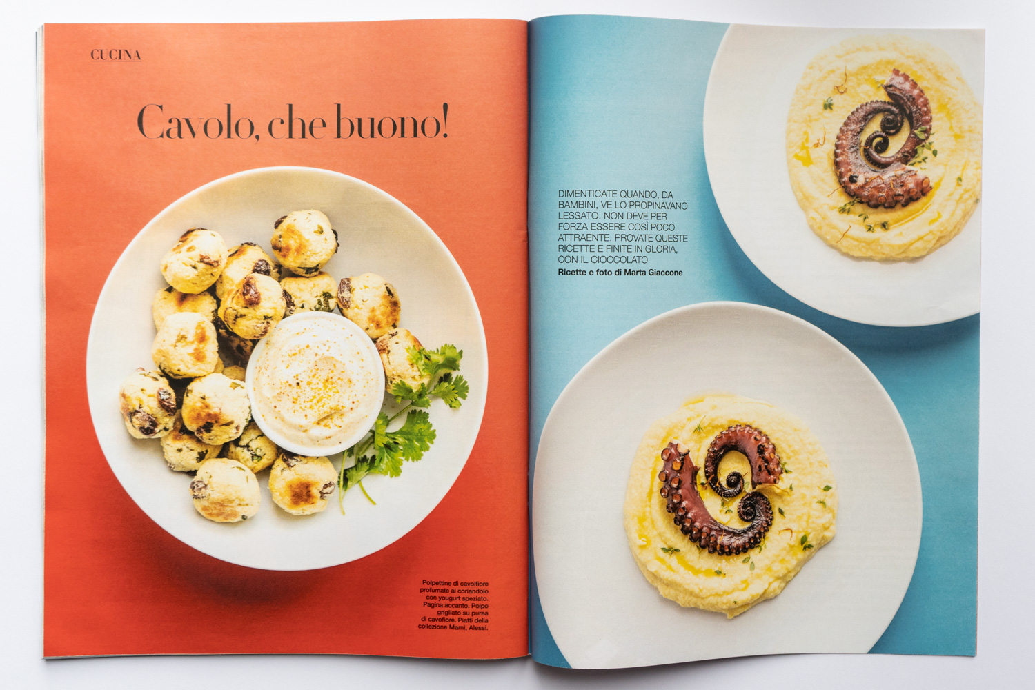 Food editorial on D la Repubblica (Mar 14th, 2020) by Marta Giaccone