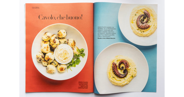 Food editorial on D la Repubblica (Mar 14th, 2020)
