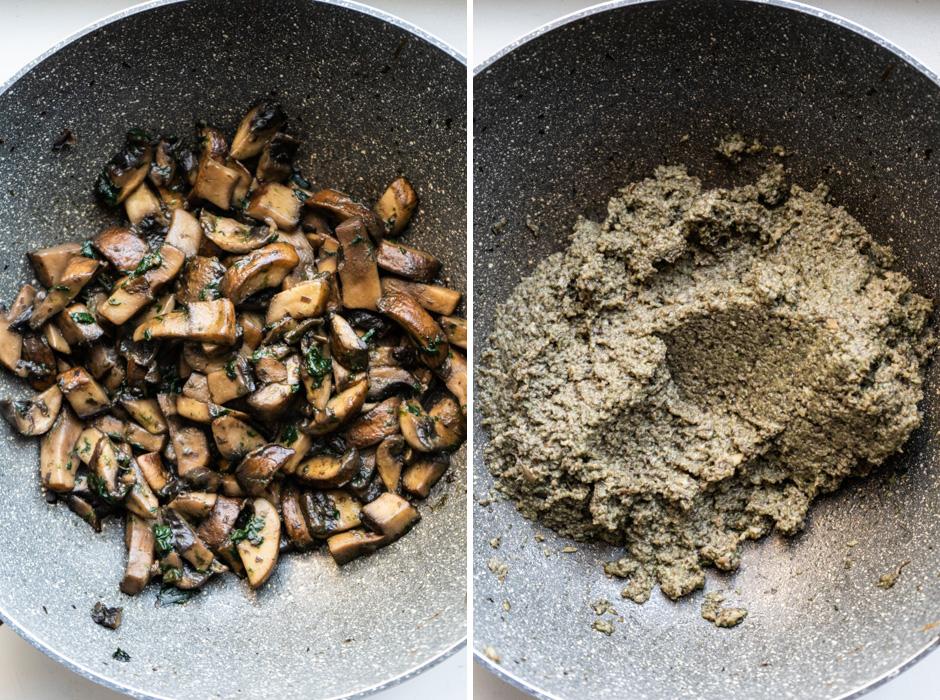 Handmade tortellini w/ a mushroom filling {vegan} - Marta's Plants